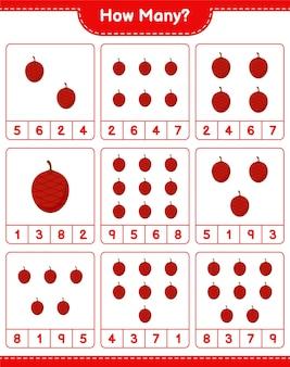 Подсчет игры, сколько ита ладони. развивающая детская игра, лист для печати