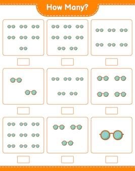 Подсчет игры, сколько очков. развивающая детская игра, лист для печати
