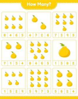 ゲームを数える、ugliの数。教育的な子供向けゲーム、印刷可能なワークシート