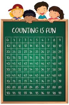 기내 숫자 계산