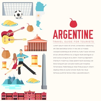 Country argentina travel vacation goods
