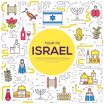 Country israel travel vacation guide of goods