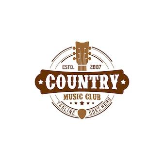 Country music club logo
