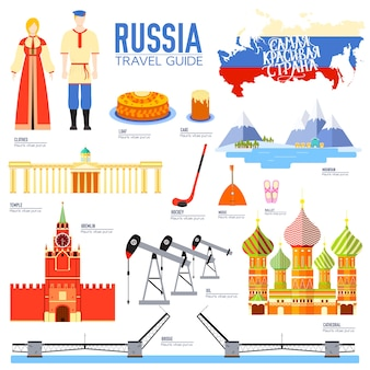 Country russia travel vacation guide of goods