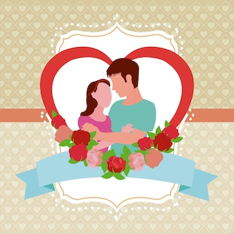 Couple and love