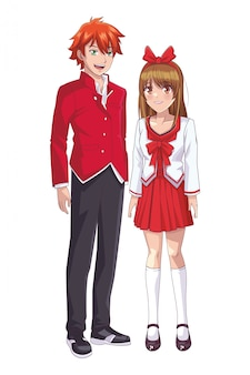 Couple anime manga