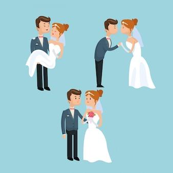 Couple cartoon