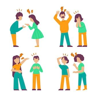 Концепция парных конфликтов