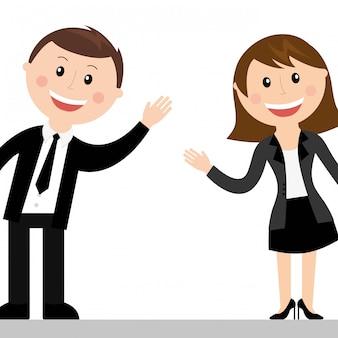 Couple design over white background vector illustration