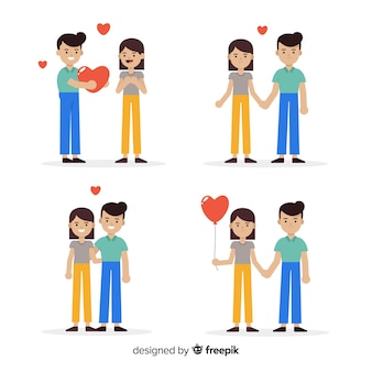 Couple in love collection
