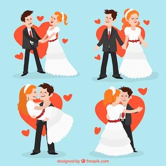 Couple of newlyweds
