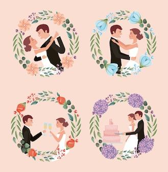 커플 웨딩 카드