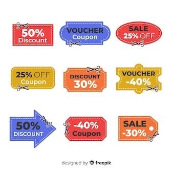 Продажа купонной этикетки