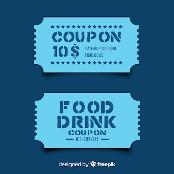 Coupon template for sales