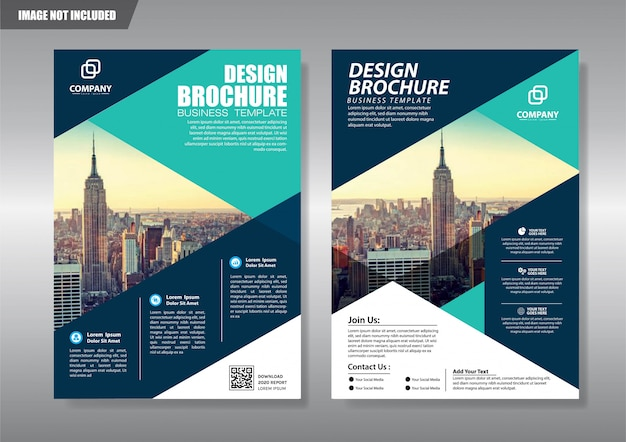 Cover brochure flyer or booklet background annual report