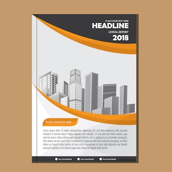 Cover Brochure layout annual report poster flyer