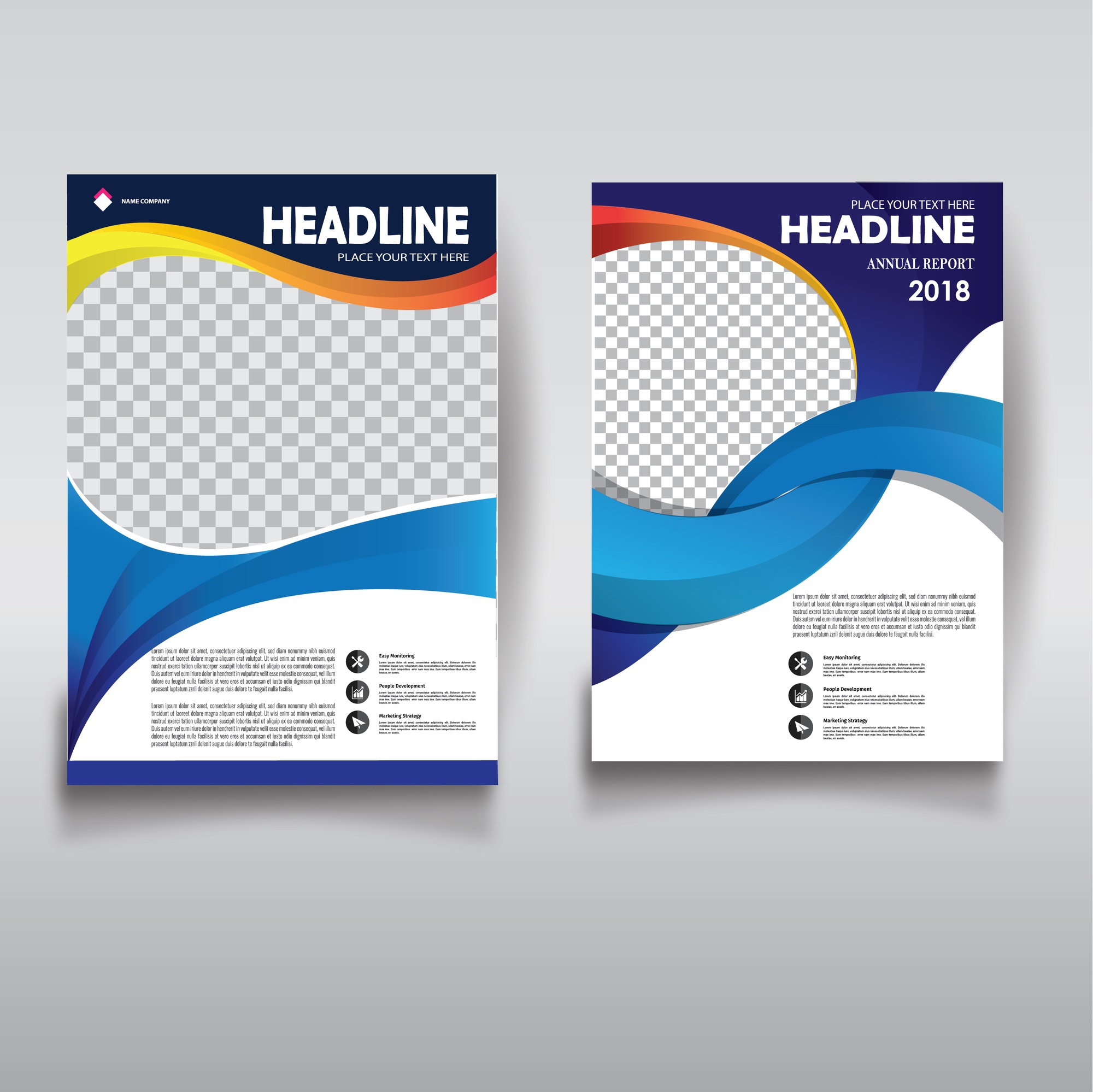 Cover Brochure layout annual report