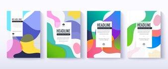 Cover design set