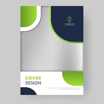 Cover design or template layout