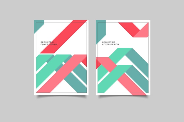 Cover geometric design collection
