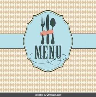 レストランのメニューの表紙