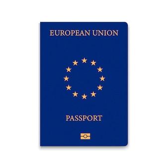 Cover passport of european union
