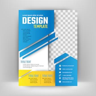 Cover reportパンフレットフライヤーポスターのためのベクターデザイン