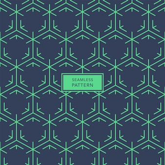 Cover template design with blue and green geometric pattern. seamless pattern.