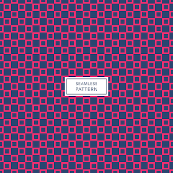 Cover template design with blue and pink geometric pattern. seamless square background.