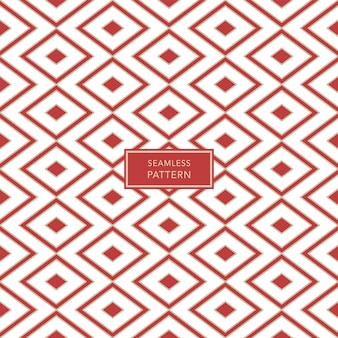 Cover template design with brown and white geometric pattern on red background. seamless background.