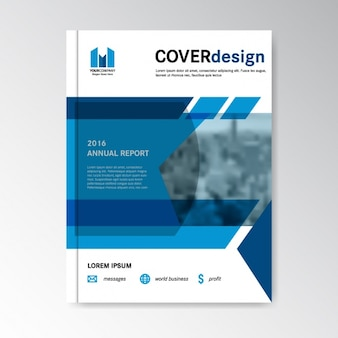 Cover template design