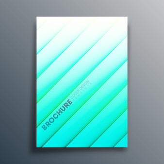 Cover template with diagonal lines for flyer, poster, brochure, typography or other printing products.  illustration