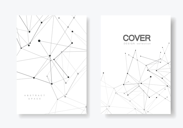 Cover templates for brochure in a4 size