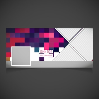 Cover with a nice pixel background
