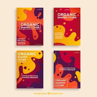 Обложка коллекции с органическими формами