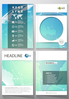 Covers with molecule geometric structure template