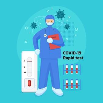 Test rapido covid-19