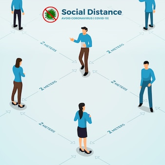 Covid-19 social distance