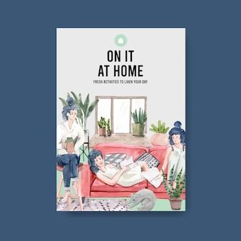 Предложения для мероприятий, когда оставаться дома для covid-19 карантина с семьей и деятельностью.
