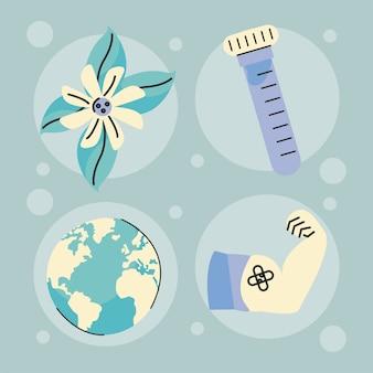 코비드 백신 캠페인 아이콘