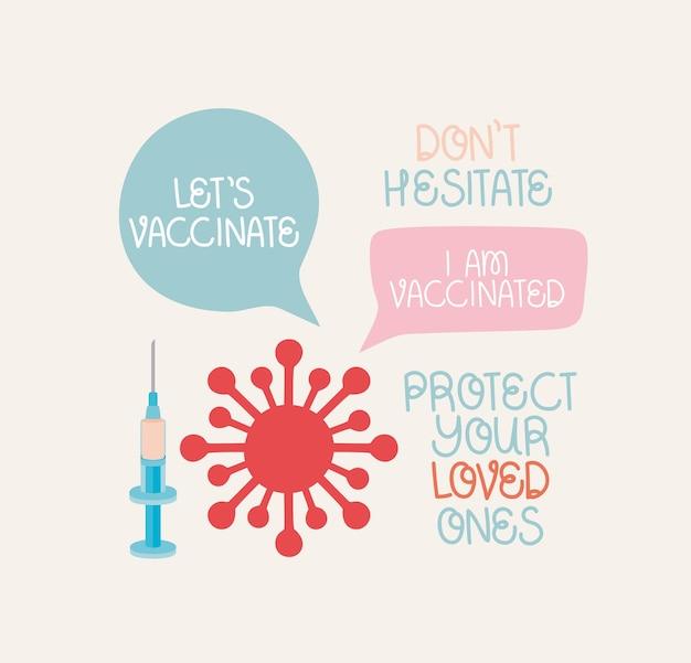 Covid vaccine designs