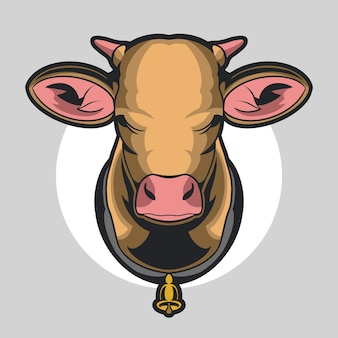 Голова коровы
