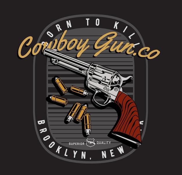 Ковбойский пистолет