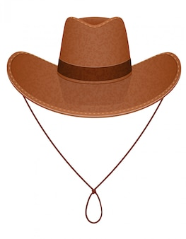 Cowboy hat vector illustration