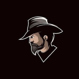 Cowboy logo design