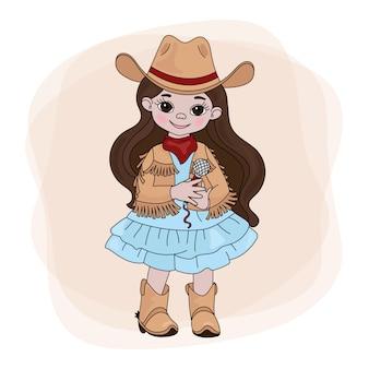 Cowgirl singerウエスタンミュージックフェスティバル