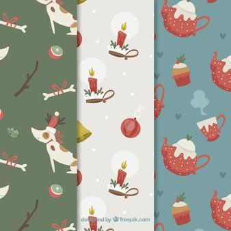 Уютные рождественские узоры
