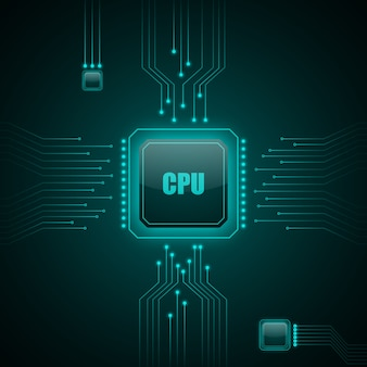 Cpu computer technology