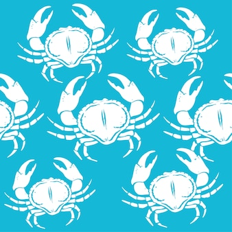 Crabs pattern design