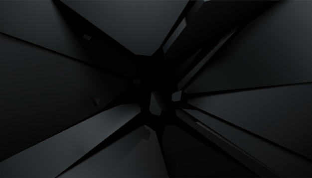 Cracking black surface. illustration. abstract background.